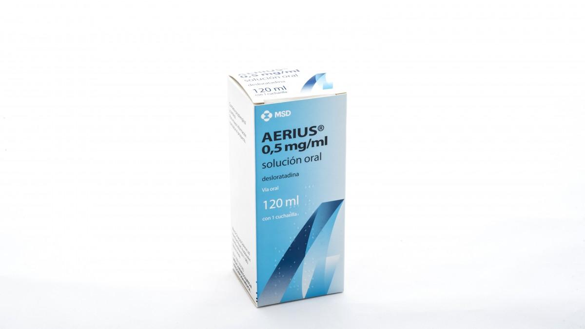 aerius 0 5 mg/ml jarabe precio