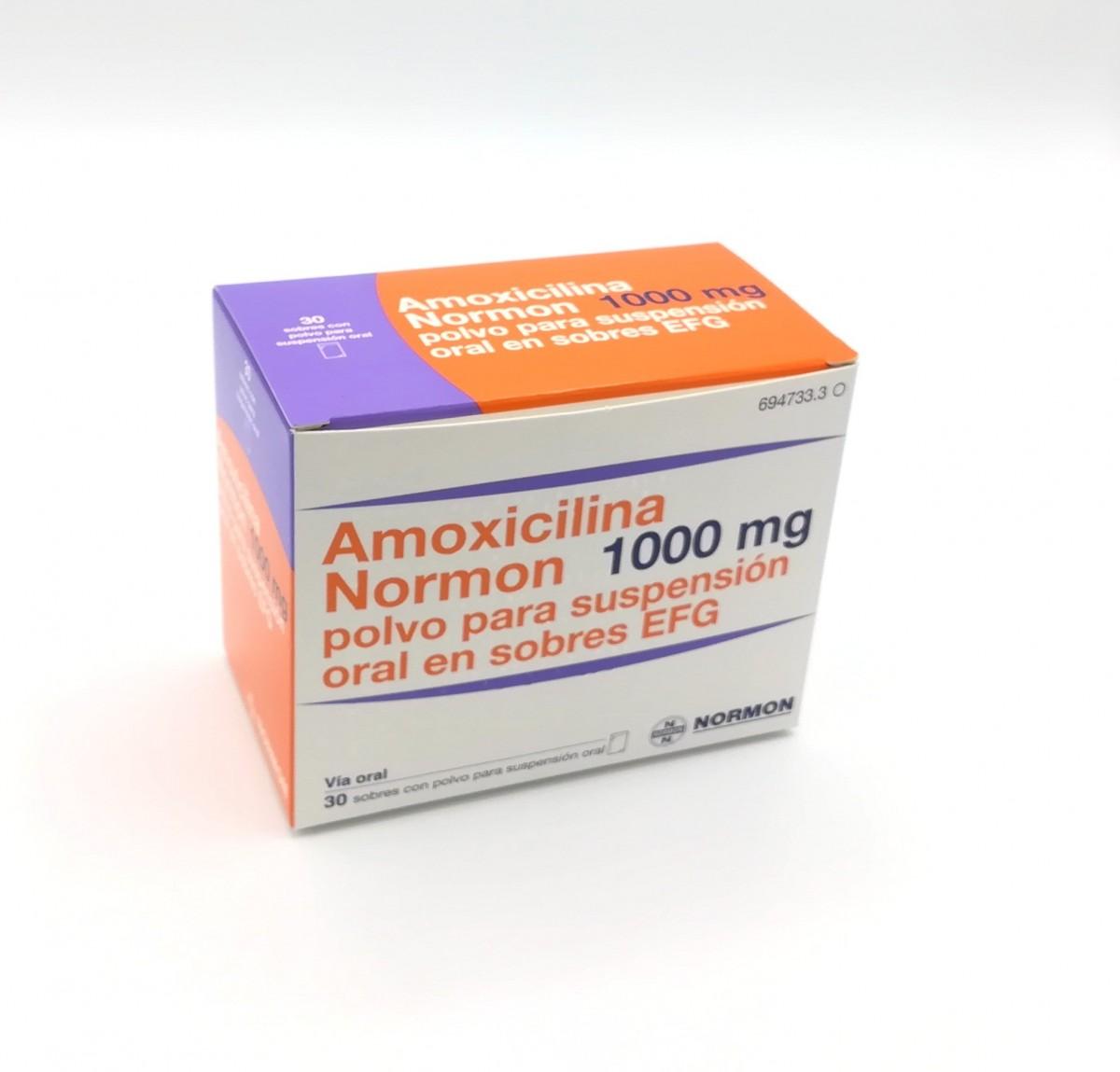 para que es la amoxicilina 1g