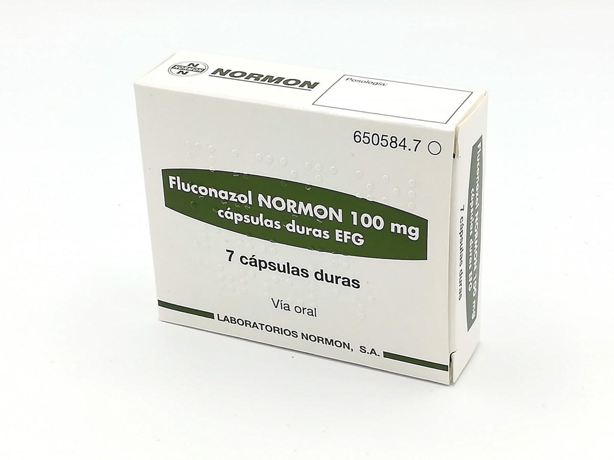 para que sirve el medicamento fluconazol 100 mg