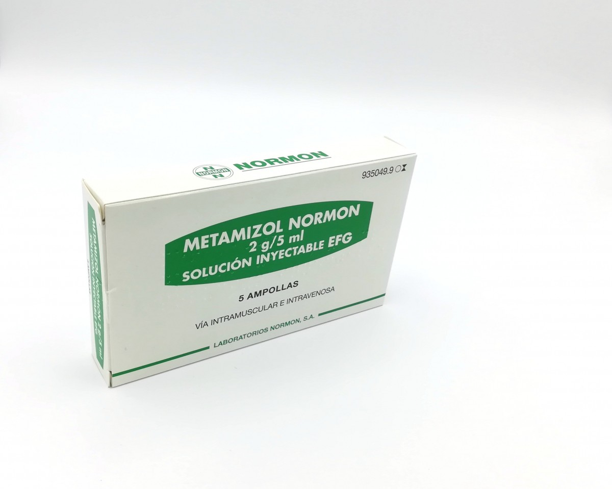 para que sirve el metamizol normon 575 mg