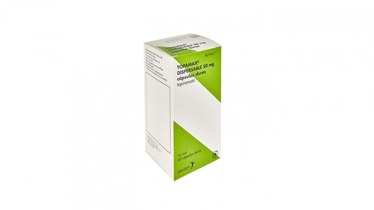 topiramato 50 mg para que sirve