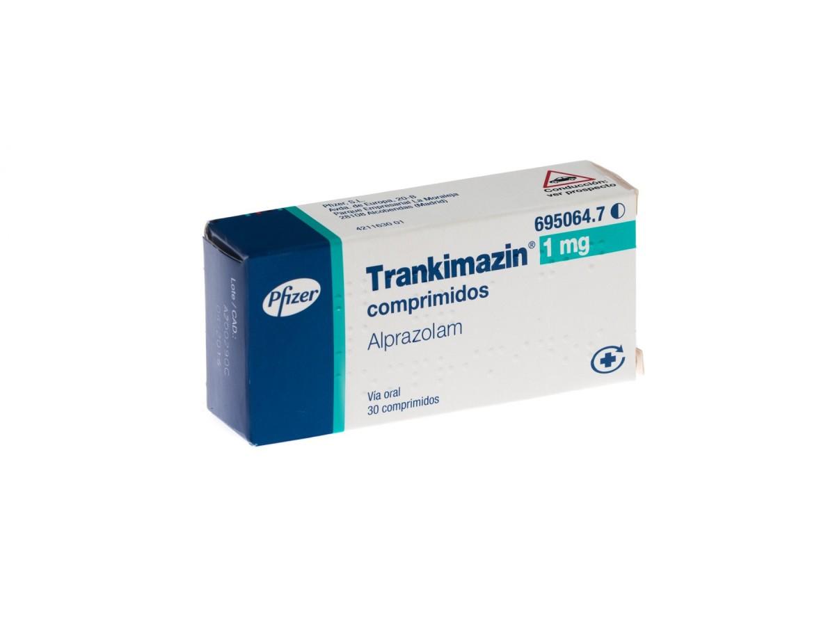 TRANKIMAZIN 1 mg COMPRIMIDOS, 30 comprimidos. Precio: 2.50€.
